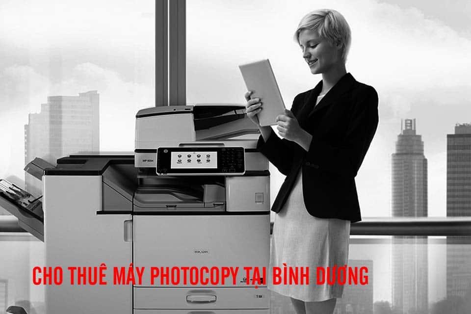 Nhiều doanh nghiệp lớn ở có nhu cầu thuê máy photocopy màu Bình Dương