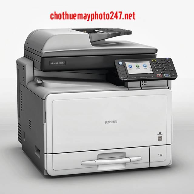 Máy Photocopy Ricoh Aficio MP301SPF