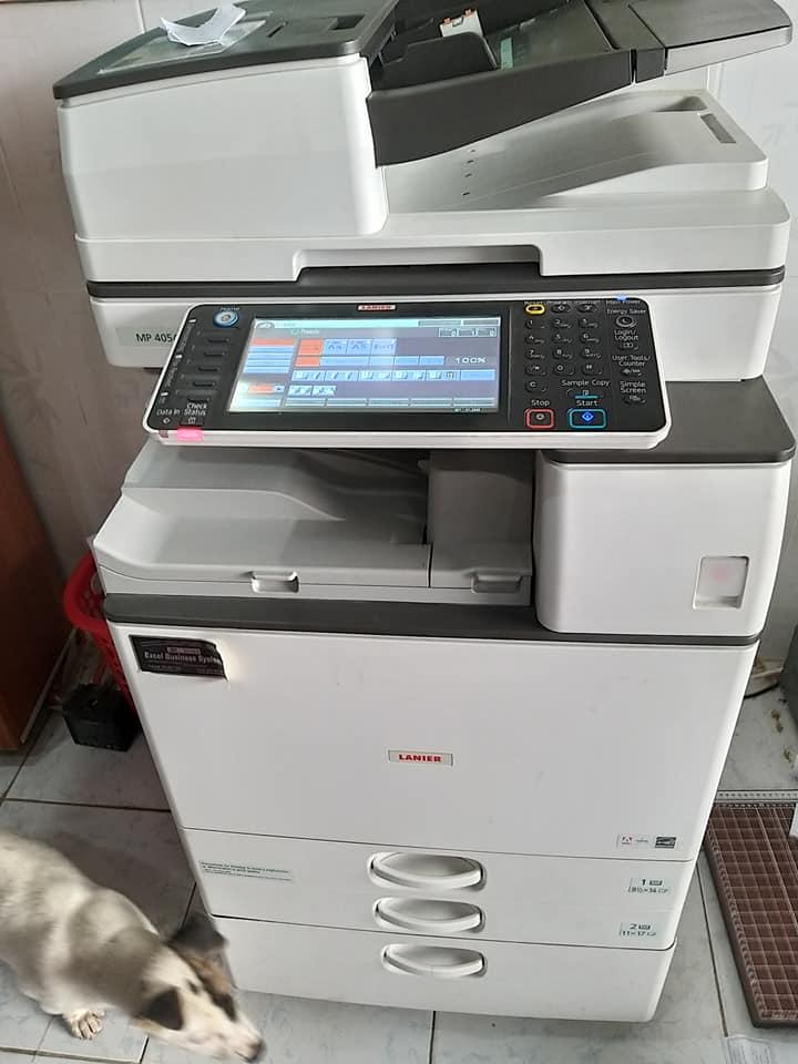 Cho thuê máy photocopy tại Bình Dương Ricoh MP4054