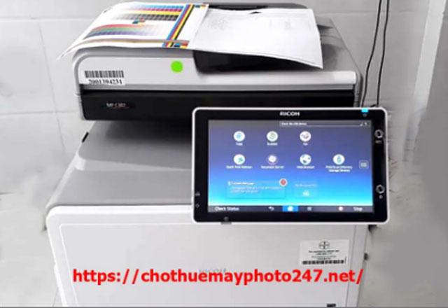Tiện ích khi thuê dịch vụ cho thuê máy photocopy màu