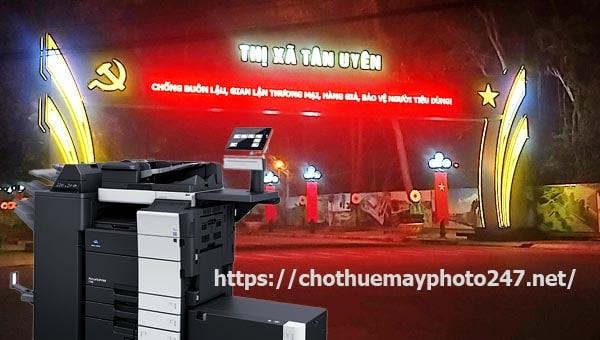 Tiện ích dịch vụ cho thuê máy photo tại Tân Uyên