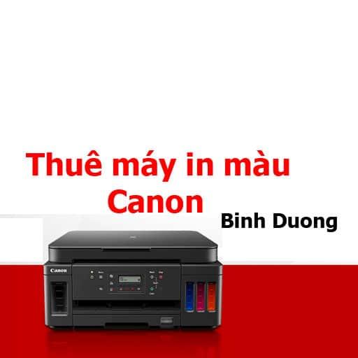 Thuê máy in màu Bình Dương Canon