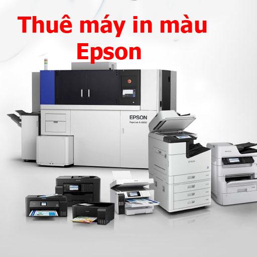 Thuê máy in màu Bình Dương Epson