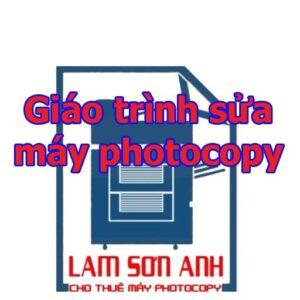 giáo trình sửa máy photocopy