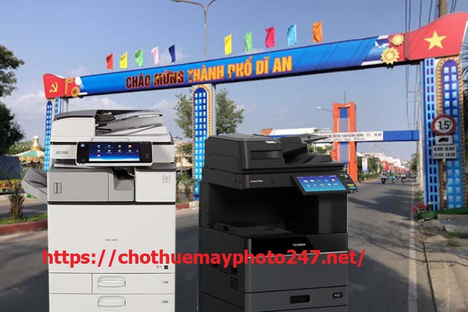 Tự hào về 1 dịch vụ cho thuê máy photocopy tại Dĩ An 550 uy tín
