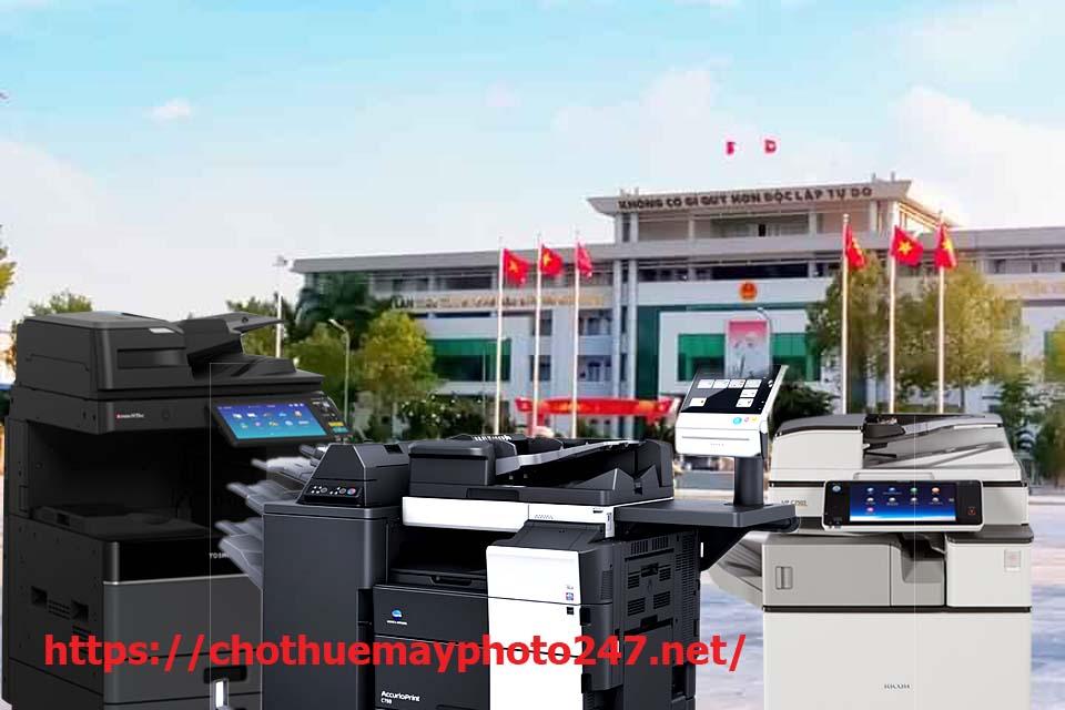 Cho thuê máy photocopy tại Dĩ An 550 rất sôi động
