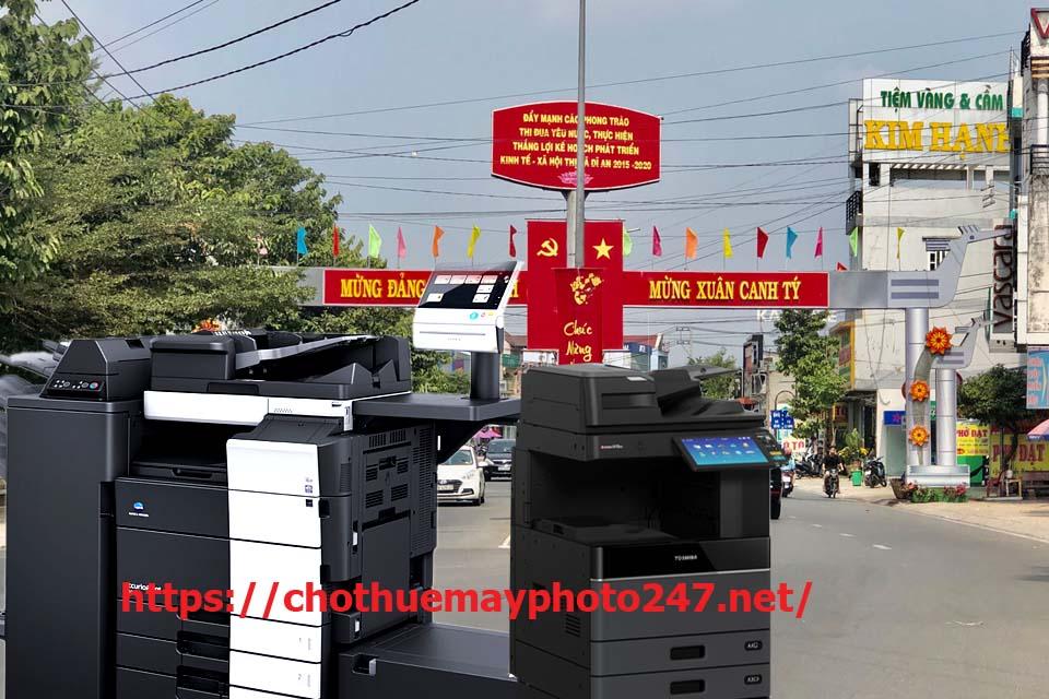dịch vụ cho thuê máy photocopy tại Dĩ An 550