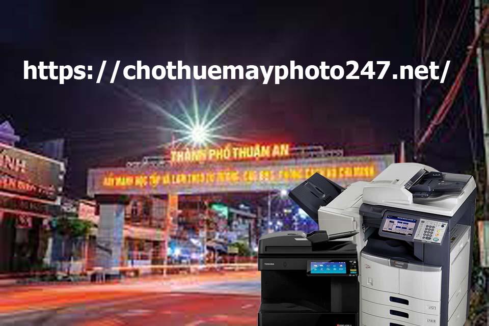 Cho thuê máy photocopy tại lái thiêu thuận an
